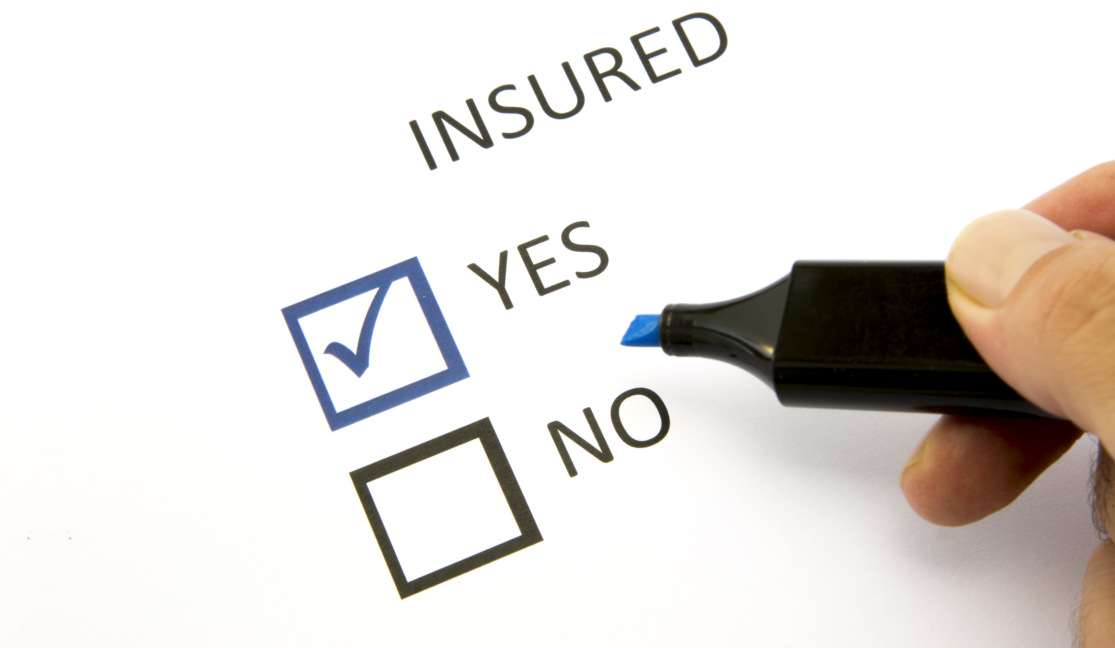 insured check box